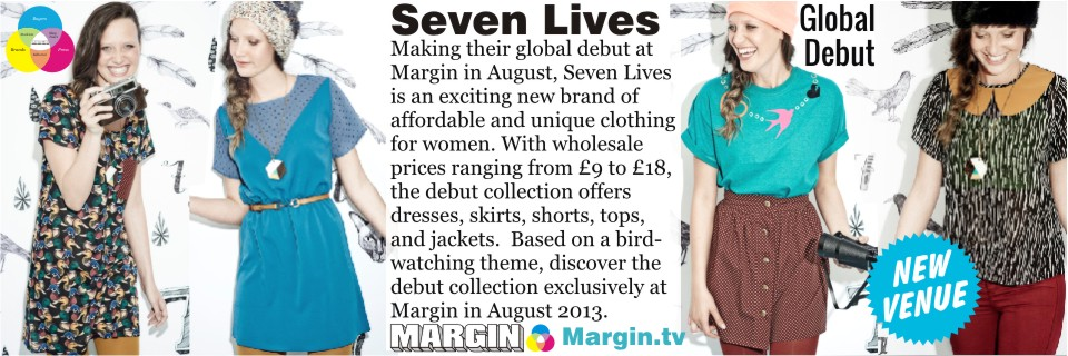 previews AUG 2013 seven lives at Margin London