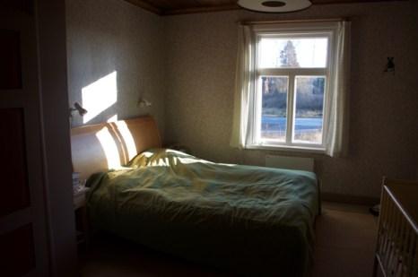 Fertiges Zimmer: Blick zum Fenster