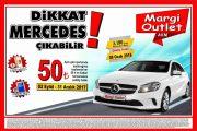 Margi Outlet - Mercedes Çekilişi