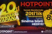 Hotpoint Sinema Bileti Kampanyası