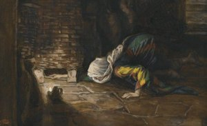 The Lost Drachma by James Tissot-Overall; Brooklyn Museum. (wikimedia)