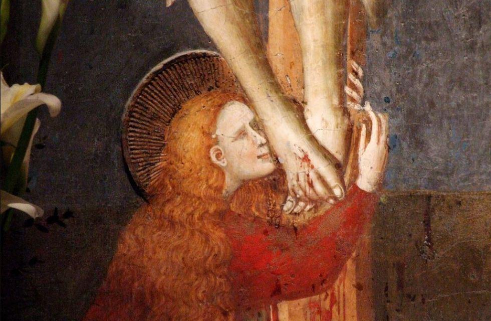 near the cross, Fanny Crosby
