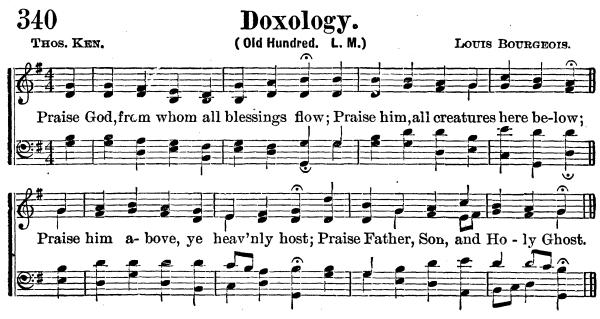 doxology 1 Peter 4:7-11