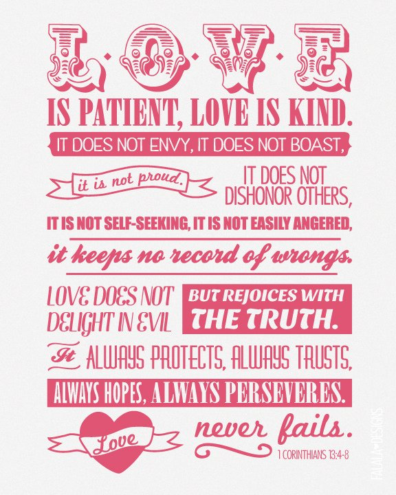 Image of 1 Corinthians 12:4-8 is by Ana Feliciano from Falala Designs