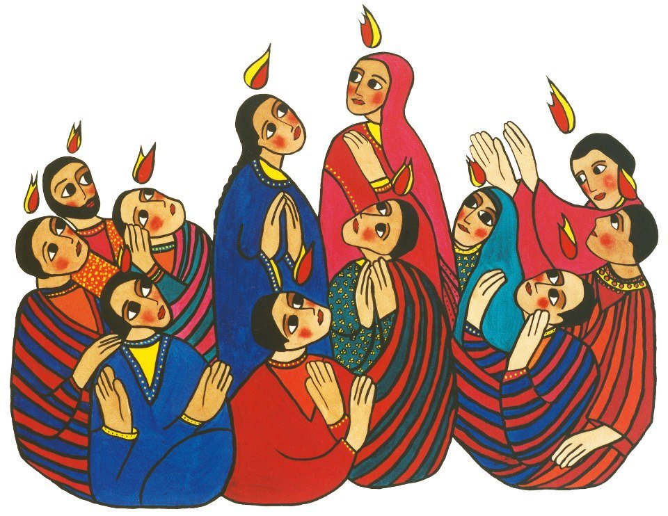 Pentecostés, Espíritu Santo, Hechos 2