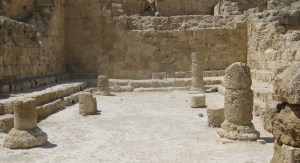 ancient synagogue in Herodion