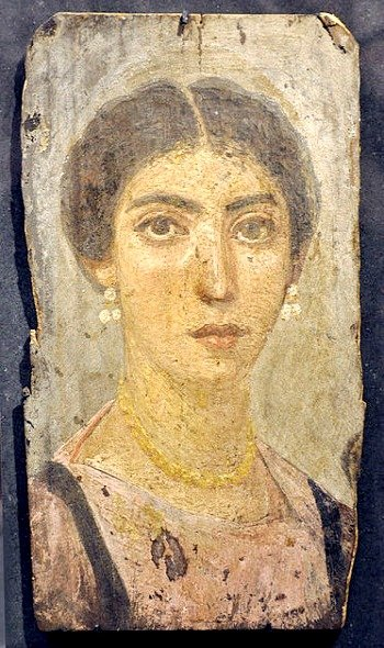 Fayum mummy, Roman Egyptian, C2nd, Liebieghaus, Frankfurt am Main, Inv. 891