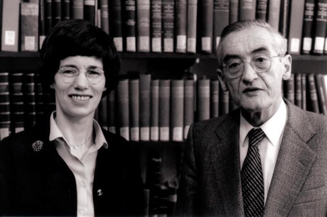 Barbara and Kurt Aland (1988) (Wikimedia Commons)