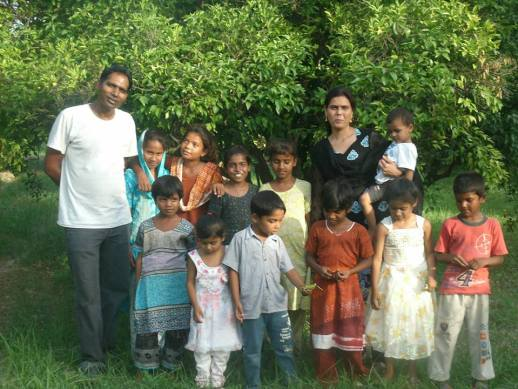 Javed and family