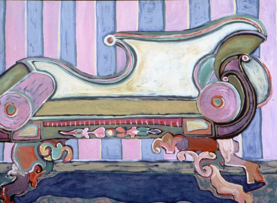 Pastel Settee, 1988