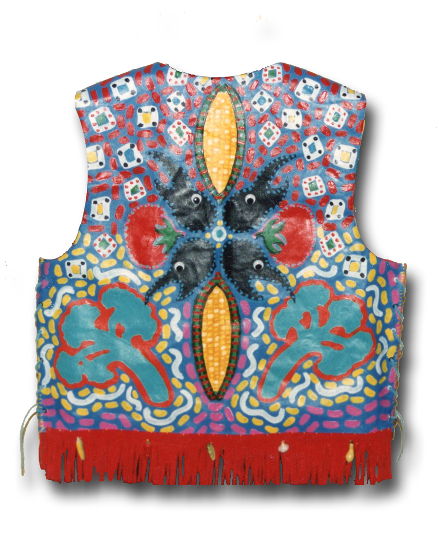 Vest with Mixed Media, 1991