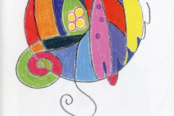 Illustration from the book Scribbling A Masterpiece: Doodle to Your Destiny by Sue Allen