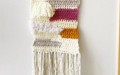 Crochet Wall Hanging Free Tapestry Pattern