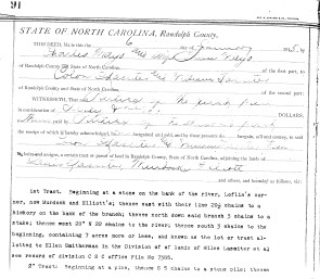 Ellen Mayo deed to Will Lassiter