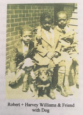 L-R_ Robert Arthur Williams, Harvey Scott Williams (2)