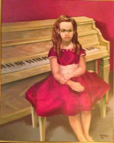 Margo Williams painted by Harvey 1958.JPG