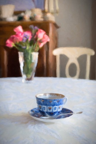 """Tea for One in the Morning"" Margo Millure (www.margomillurephotography.com)"