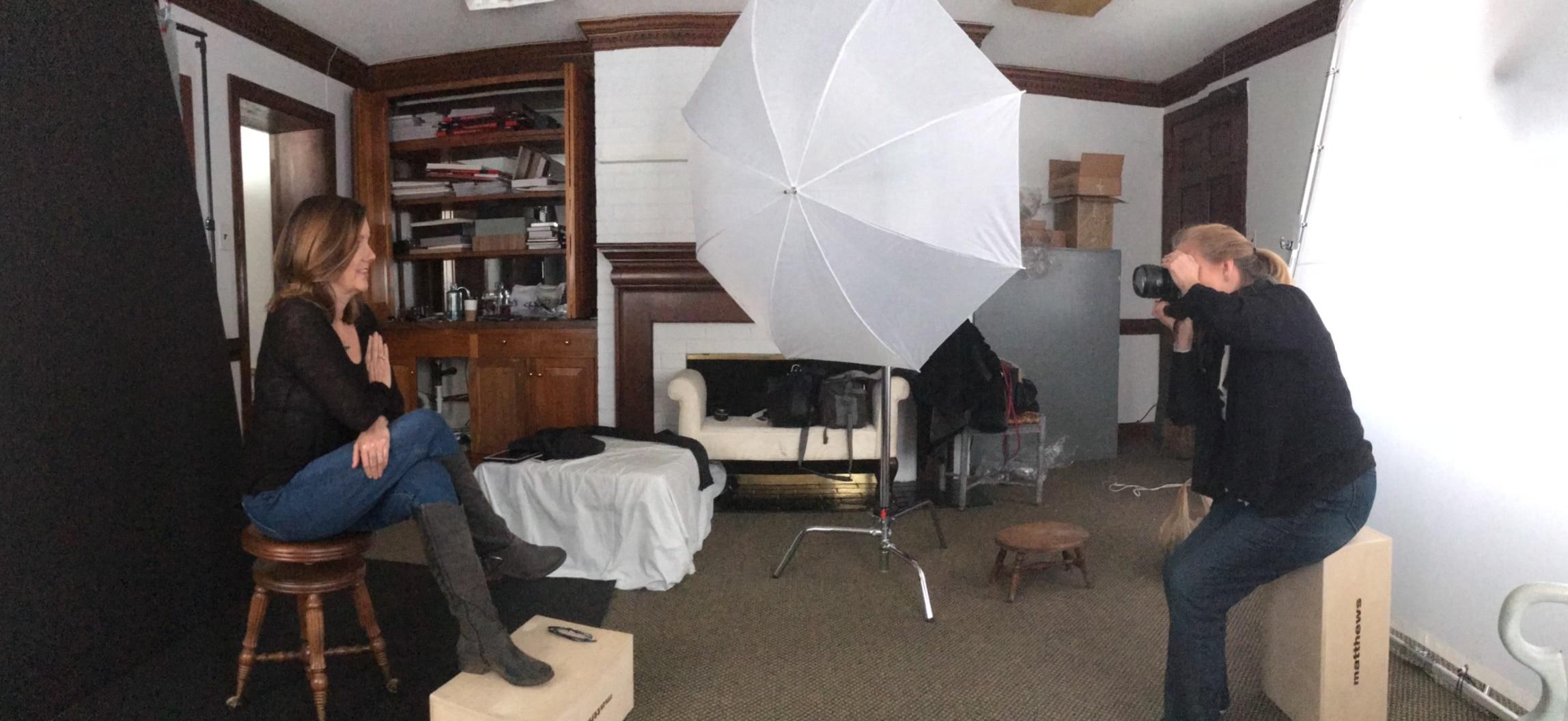 dream photoshoot behind the scenes