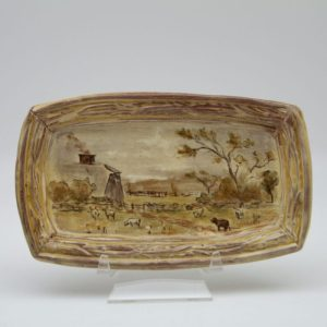 Terracotta Landscape Tray by Mary Briggs