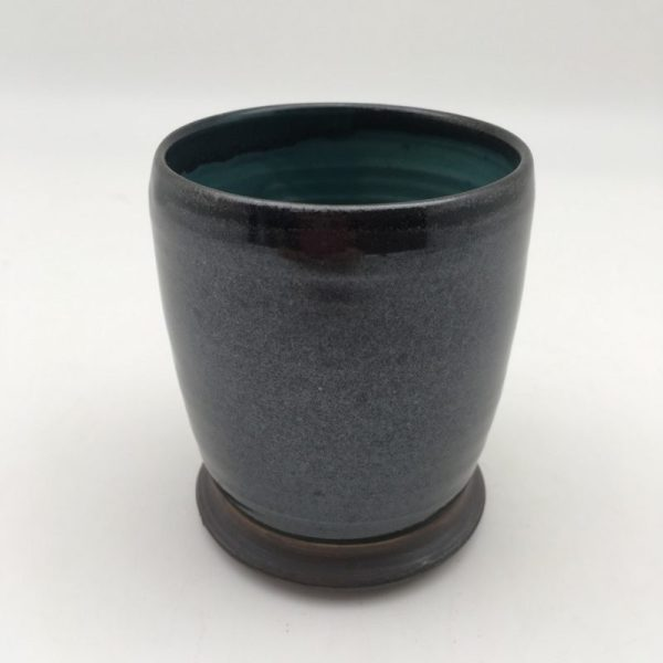 black Porcelain Glass by Margo Brown - 1004
