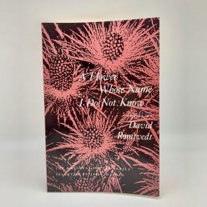 A Flower Whose Name I Do Not Know by David Romtvedt book