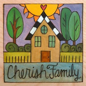 """Caitlin's House - 6"""" Plaque by Sincerely Sticks"""