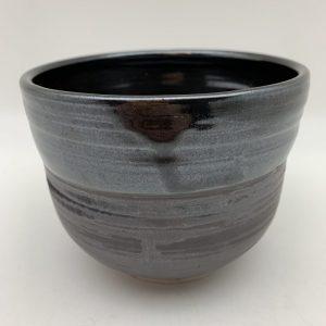 Black Porcelain Bowl by Margo Brown