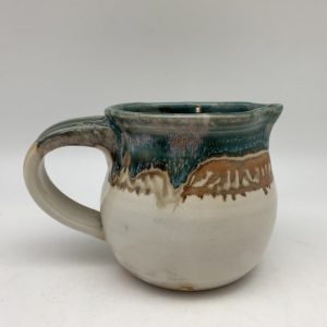 Patterned Porcelain Pitcher by Margo Brown