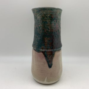 Two-Tone Porcelain Vase by Margo Brown