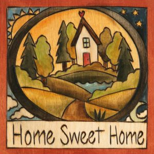 """Looks Like Home 6"""" Plaque by Sincerely Sticks"""