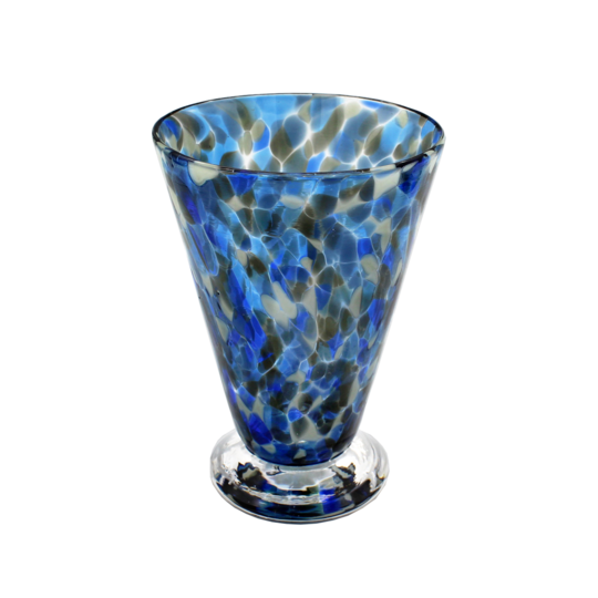 Speckle Cup - Blue and Grey Kingston Glass Studio