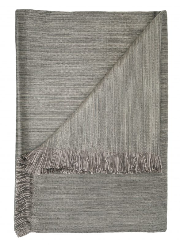 Alpaca Throw Blanket - Driftwood Shupaca