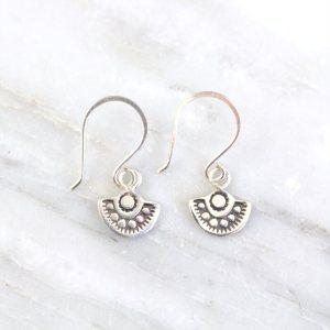 Wanderer Mini Charm Earrings Sarah Deangelo