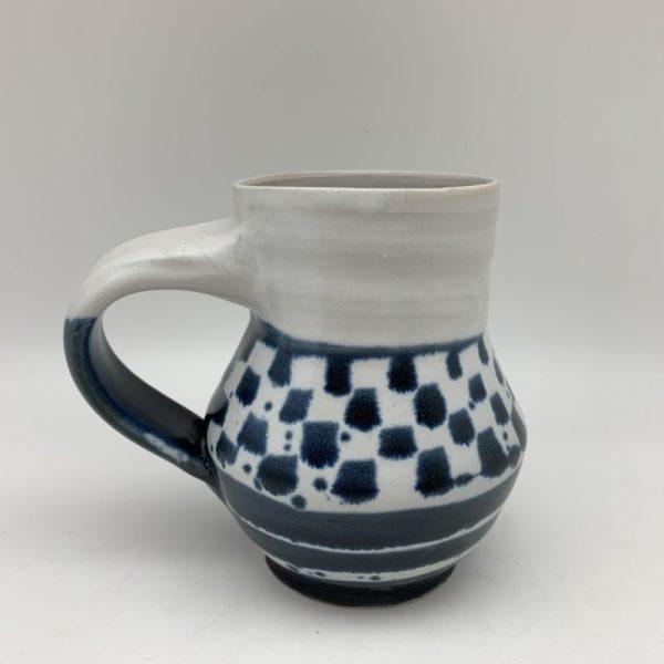 Checks and Stripes Mug by Margo Brown