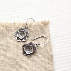 Cactus Flower Earrings Sarah Deangelo