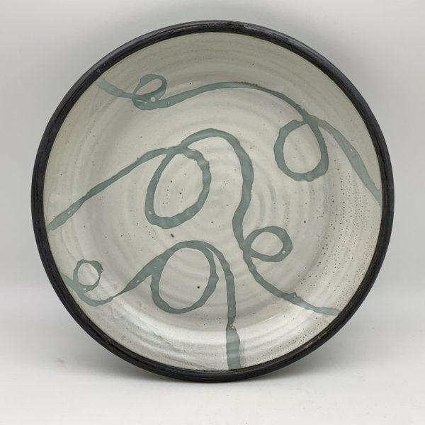 Loop-Design Pie Plate by Margo Brown