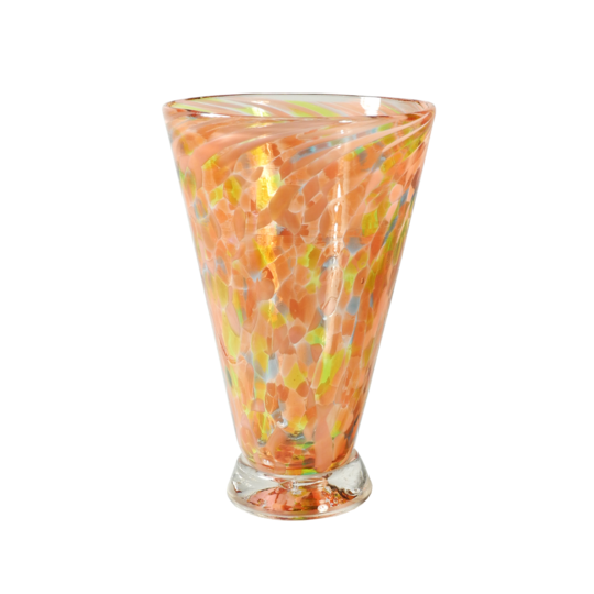 Speckle Cup - Pink Kingston Glass Studio