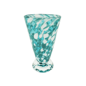 Speckle Cup - Peacock Kingston Glass Studio