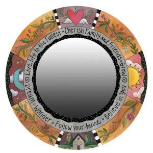 Oh So Pretty Mirror by Sincerely Sticks