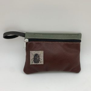 Mini Stash Bag by Traci Jo Designs - Brown/Beetle