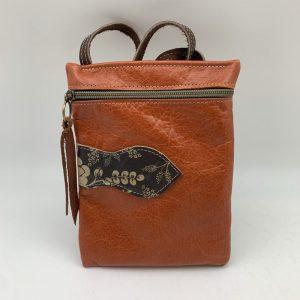 Passport Bag by Traci Jo Designs - Dark Camel