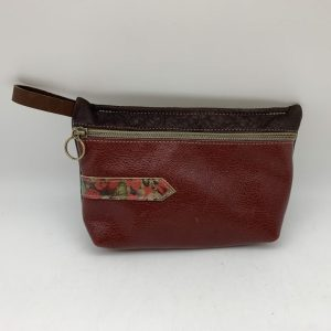 Everyday Stash Bag by Traci Jo Designs - Brown/Floral