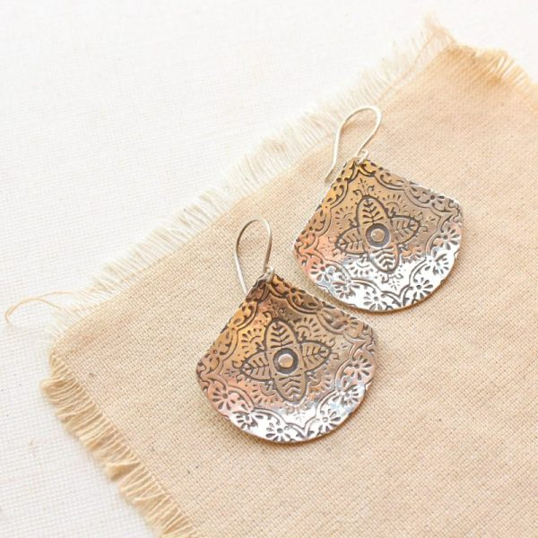 Turkish Fan Earrings