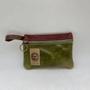 Mini Stash Bag by Traci Jo Designs - Green/Sun - TJ22