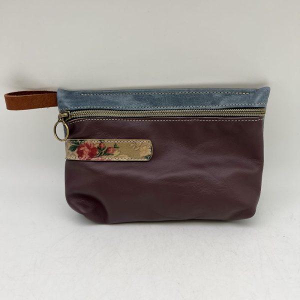 Everyday Stash Bag by Traci Jo Designs - Purple/Floral - TJ32