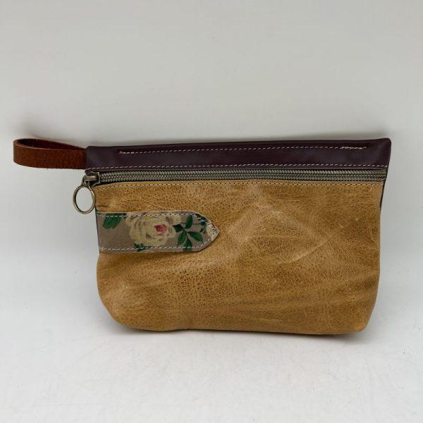 Everyday Stash Bag by Traci Jo Designs - Gold/Floral - TJ26