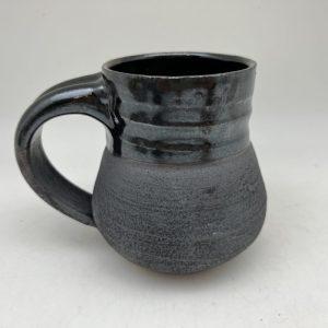 Black Porcelain Mug by Margo Brown - 2708