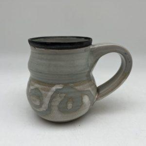 Celadon String Design Mug by Margo Brown - 2716