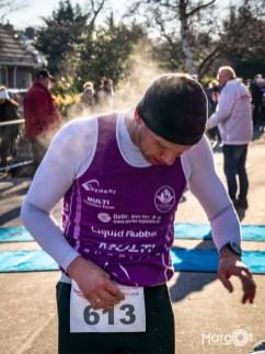 Goedhart Drechtloop 2019 - Even stoom afblazen! (Corné Klein, 1e op 10 km voor categorie 45 jaar en ouder)