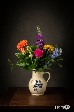 Vaas met bloemen - Workshop Still Life Photography